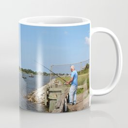 Fishing On Land Or By Boat Coffee Mug