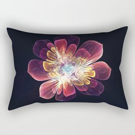 Tibet Sea Flower Rectangular Pillow