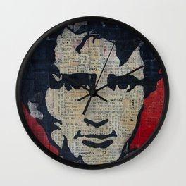 Jack Kerouac: Get On The Beat  Wall Clock