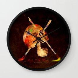 Argh…T  Me Matey 036 Wall Clock