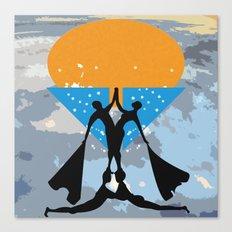 man power2 Canvas Print