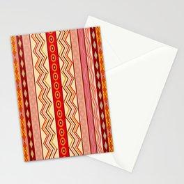 Tribal Pattern Stationery Cards
