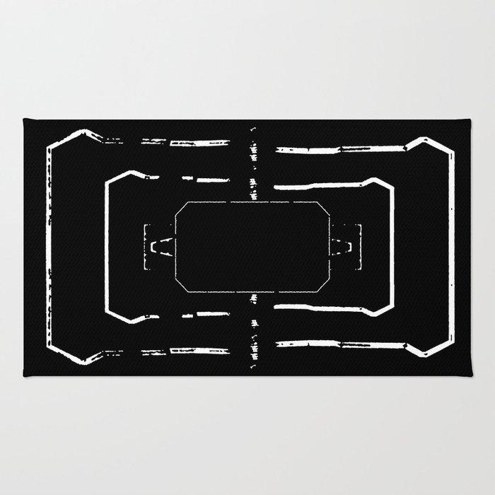 Welcome mat deployed II Rug