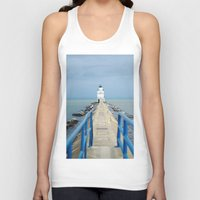 lighthouse Tank Tops featuring Lighthouse by MelissaLaDouxPhoto