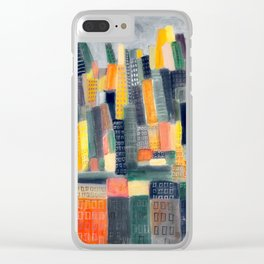 Popsicle Judgment Clear iPhone Case
