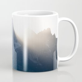 grand teton mountains sunset Coffee Mug