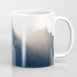 grand teton mountains sunset Coffee Mug