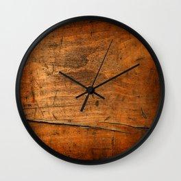 Wood Texture 340 Wall Clock