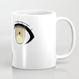 Anime Face Coffee Mug