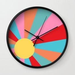 Ray of Sunshine 1950s Wall Clock