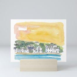 Port Ellen Islay Scotland Waterfront Mini Art Print