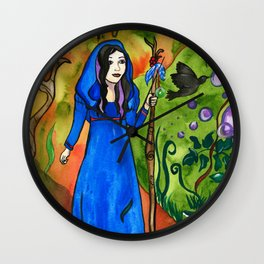 Avalon Forest Wall Clock
