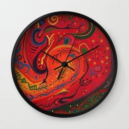 Big Mouth Invertebrate Wall Clock