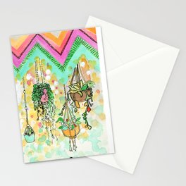 Hanging Plants with Robert Plant Stationery Cards