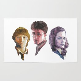 Ron, Harry & Hermione Rug