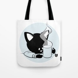Morning Cat Tote Bag