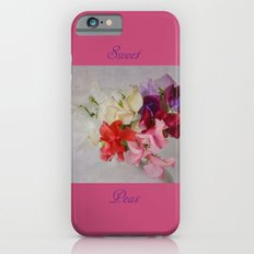 Sweet Peas iPhone 6s Slim Case