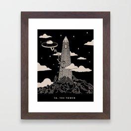 16. The Tower Framed Art Print