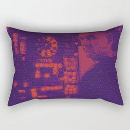 DUOTONE SKETCH #17: n Rectangular Pillow