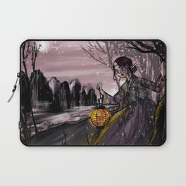 Runaway bride under the moon Laptop Sleeve