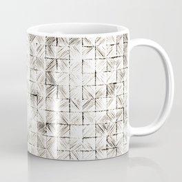Ink Stitch: Cream Howlite Coffee Mug