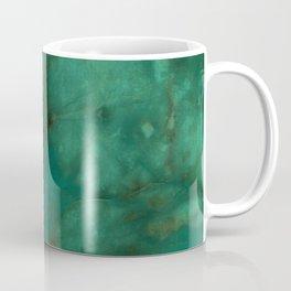 Hunter Green Marble Coffee Mug