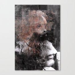 Monkey Child Canvas Print