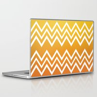 tequila Laptop & iPad Skins featuring Tequila Sunrise by Color and Form