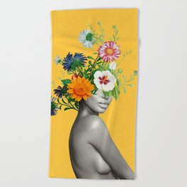 Bloom 5 Beach Towel