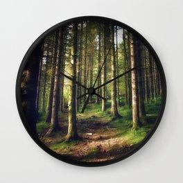 Woodland Fairytail Wall Clock