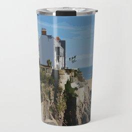 Wales Tenby Beach  Travel Mug