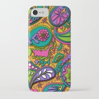 paisley iPhone & iPod Cases featuring Paisley by Shelly Bremmer