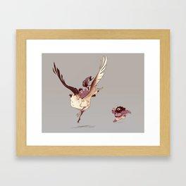 arry Framed Art Print