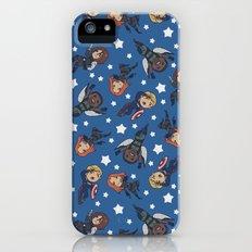 ragtag american dream team! [blue] Slim Case iPhone (5, 5s)