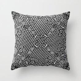 Lace Bandana Throw Pillow