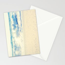 Beach Gold Stationery Cards