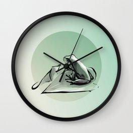 Frogs Start Singing Wall Clock
