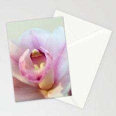 Cymbidium orchid 9770 Stationery Cards