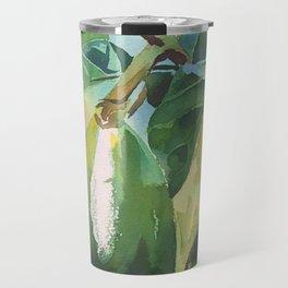 Green Avocado Travel Mug