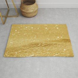 Glitter Gold Rug