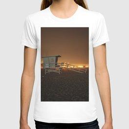 Lifeguard Station at Night 2 T-shirt