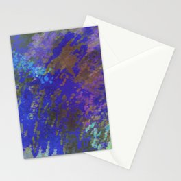 Blue over Skies of Pink Stationery Cards