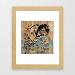 Jah Framed Art Print