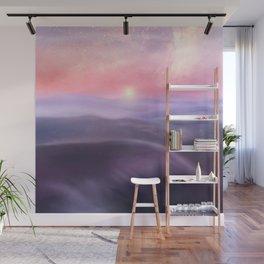 Minimal abstract landscape III Wall Mural