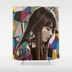 Françoise Hardy Shower Curtain