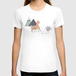 Sleep Walking Llama T-shirt