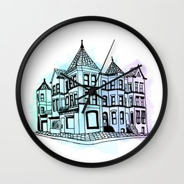 LeDroit Park Houses Wall Clock
