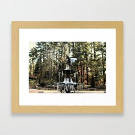 Winter's Lace Framed Art Print