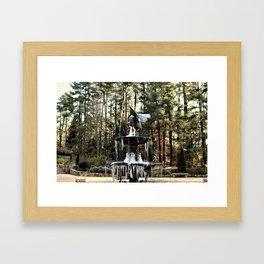 Winter's Lace Framed Art Print