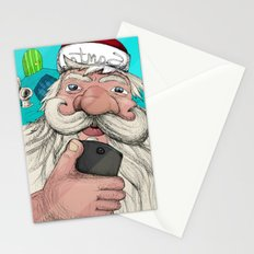 #santa#selfie Stationery Cards